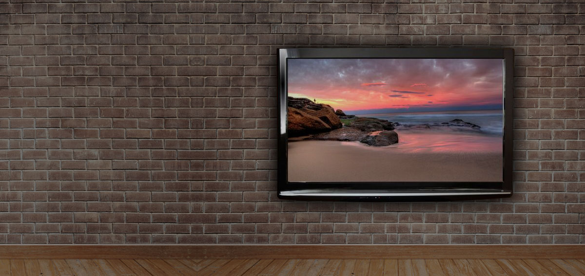 We can hang your TV on your wall in all Kent Areas